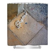 Abandoned Fishing Knot Shower Curtain