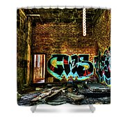 Abandoned, Hdr Shower Curtain