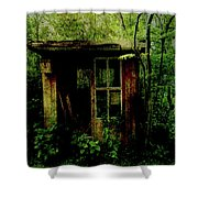 Abandoned Hideaway Shower Curtain