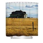 Abandoned Homestead Saskatchewan Shower Curtain