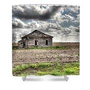 Abandoned House - Ganado, Tx Shower Curtain