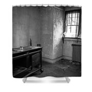 Abandoned House Wilson Nc 0012 Shower Curtain