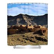 Abandoned Kasbah Shower Curtain