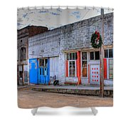 Abandoned Main Street Shower Curtain by Douglas Barnett