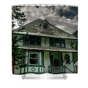 Abandoned Miners Boarding House Shower Curtain