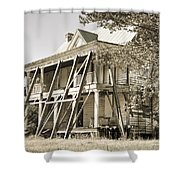Abandoned Plantation House #3 Shower Curtain