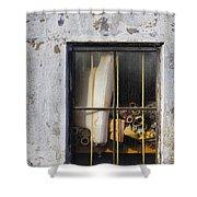 Abandoned Remnants Ala Grunge Shower Curtain