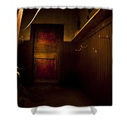 Abandoned Schoolhouse Shower Curtain
