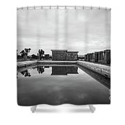 Abandoned Swimming Pool Shower Curtain