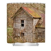 Abandoned Turn Of Centruy Home Shower Curtain