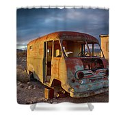 Abandoned Van Shower Curtain