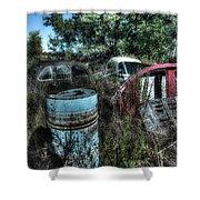 Abandoned Vehicles - Veicoli Abbandonati  1 Shower Curtain