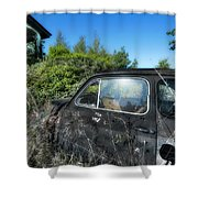 Abandoned Vehicles - Veicoli Abbandonati  2 Shower Curtain
