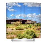 Abandoned Warehouse Shower Curtain
