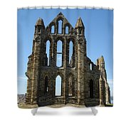 Abbey At Whitby  Shower Curtain