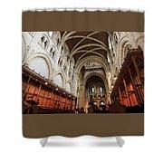 Abbey Church Of Saint Mary, Or Buckfast Abbey Shower Curtain