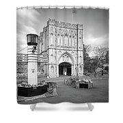 Abbey Gate Shower Curtain