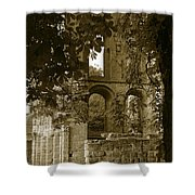 Abbey In Kelso. Shower Curtain