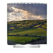 Abbotsbury - England Shower Curtain