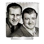 Abbott And Costello Shower Curtain