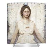 Abbott Handerson Thayer - Angel Shower Curtain