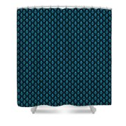 Abby Damask With A Black Background 18-p0113 Shower Curtain