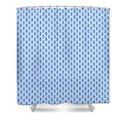 Abby Damask With A White Background 18-p0113 Shower Curtain