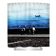 Abby Road By The Bay Shower Curtain