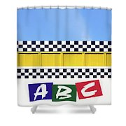 ABC Shower Curtain