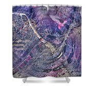 Abcollage Shower Curtain