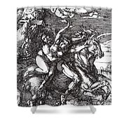 Abduction Of Proserpine On A Unicorn 1516 Shower Curtain