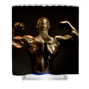 Abe 5745 Shower Curtain