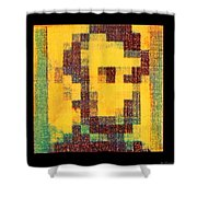 Abe In Yellow Shower Curtain
