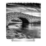 Aberffraw Bridge V2 Shower Curtain