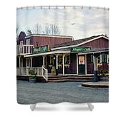 Abigail's Cafe - Hope Valley Art Shower Curtain