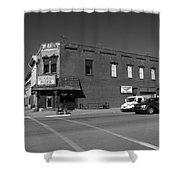 Abilene, Kansas - Cedar And 3rd II Shower Curtain