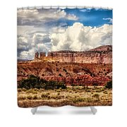 Abiquiu Landscape  Shower Curtain