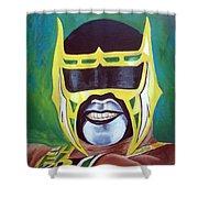 Abismo Negro Shower Curtain