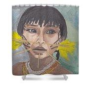 Aborigen Venezolano Shower Curtain