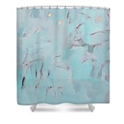 Above And Beyond Shower Curtain