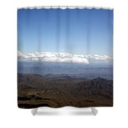 Above Nevada Shower Curtain