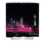 Above Niagara Shower Curtain