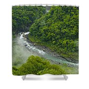 Above The River Shower Curtain