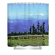 Above The Smoke Shower Curtain