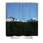 Above The Treetops Shower Curtain
