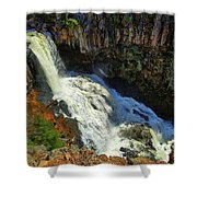 Above Undine Falls Shower Curtain