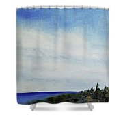 Above Us Shower Curtain