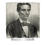 Abraham Lincoln - As A Presidential Candidate Shower Curtain