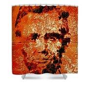 Abraham Lincoln 4d Shower Curtain