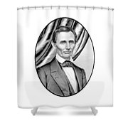 Abraham Lincoln Circa 1860 Shower Curtain by War Is Hell Store